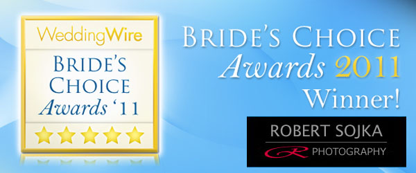 2011 Brides Choice Award for Chicago Wedding Photography